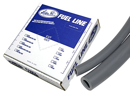 Motion Pro 12-0031 Tygon Grey 3/16'' x 25' Premium Fuel Line by Motion Pro