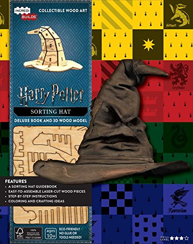 IncrediBuilds: Harry Potter: Sorting Hat Deluxe Book and Model Set