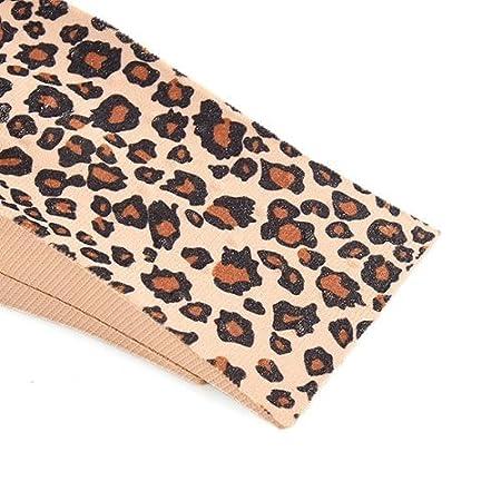 215bcdfdf86 Almohadilla de talon de suela - SODIAL(R) 4 x Almohadilla de talon de suela  PVC Leopardo creciendo para mujeres hombres + 4.5cm  Amazon.es  Salud y  cuidado ...