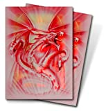 : Deck Protectors Monte - Small Size - Red Diamond Dragon