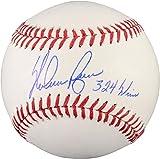 Nolan Ryan Texas Rangers Autographed Baseball with 324 Wins Inscription - Fanatics Authentic Certified