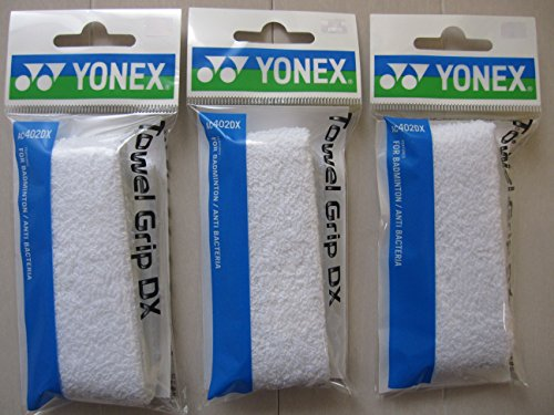 Yonex Towel Grip Dx Ac402dx White (Ac402dxw3f) set of 3