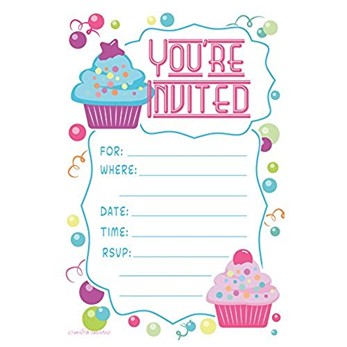 Kids Birthday Invitations: Amazon.com