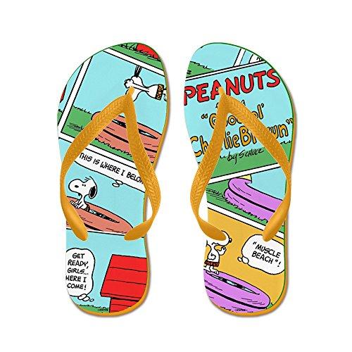 (CafePress - Snoopy's Summer Fun - Flip Flops, Funny Thong Sandals, Beach Sandals)