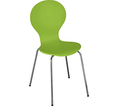 ColourMatch Apple Green Bentwood Dining Chair