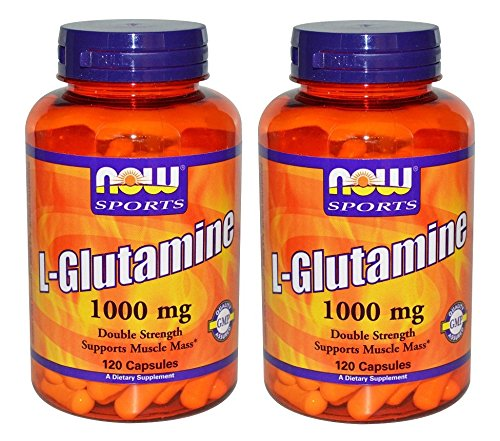 Foods L Glutamine Double Strength Capsules