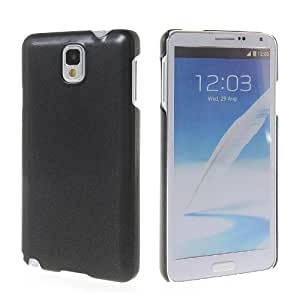 KCASE Hard Rubberized Coating Rubber Thin Back Case Cover For Samsung Galaxy Note 3 N9000 Black