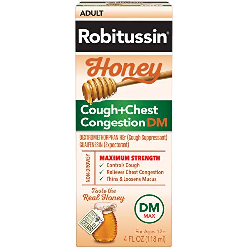 Robitussin Honey Adult Maximum Strength DM Max