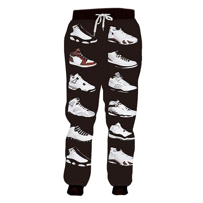 Pantalones Deportivos de Hip Hop para Hombre Pantalones de Jogging ...