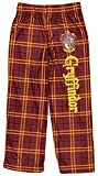 Intimo Harry Potter Big Boys Houses Plaid Pajama Lounge Pants