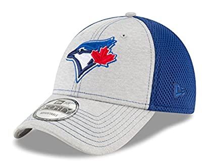"Toronto Blue Jays New Era 9Forty MLB ""Shadow Turn 2"" Adjustable Hat - Gray by New Era"