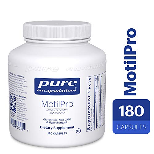 - Pure Encapsulations - MotilPro - Hypoallergenic Dietary Supplement to Promote Healthy Gut Motility* - 180 Capsules