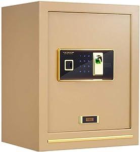 Safes Safes Digital Security Biometric Fingerprint Led Display Solid Steel Construction For Home Hotel Gun Medication 38X32X48Cm Safes