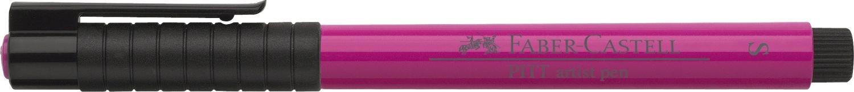 colore 125 Faber-Castell 167025/ /Penna Pitt Artist Pen purpurrosa Medio tratto da S