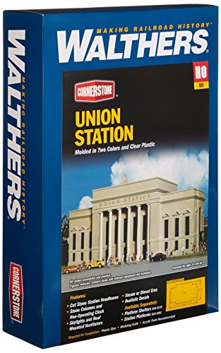 (Walthers Cornerstone Series Kit HO Scale Union Station)