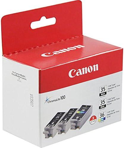 Canon CANON 1509B007 PGI-35 BLACK AND CLI-36 COLOR INK TANKS VALUE PACK