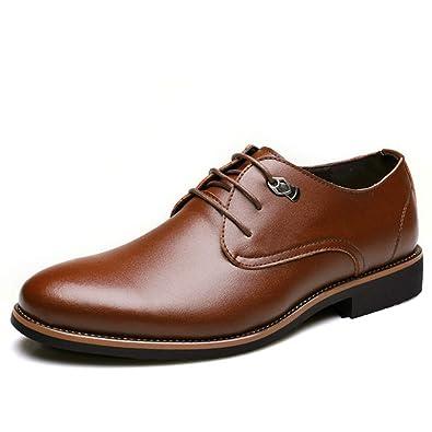detailed look f0fd2 11766 Qianliuk Männer Kleid Schuhe Simple Style Oxford Schuhe ...