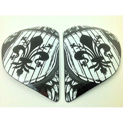 Arai Helmets Shield Cover Set for RX-Q Helmet Dueted 4872 ()