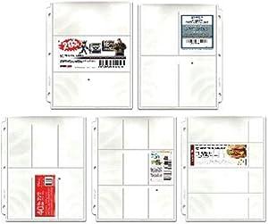 Coupon Binder Pages - Starter 20 Page Assortment + Bonus Sleeve