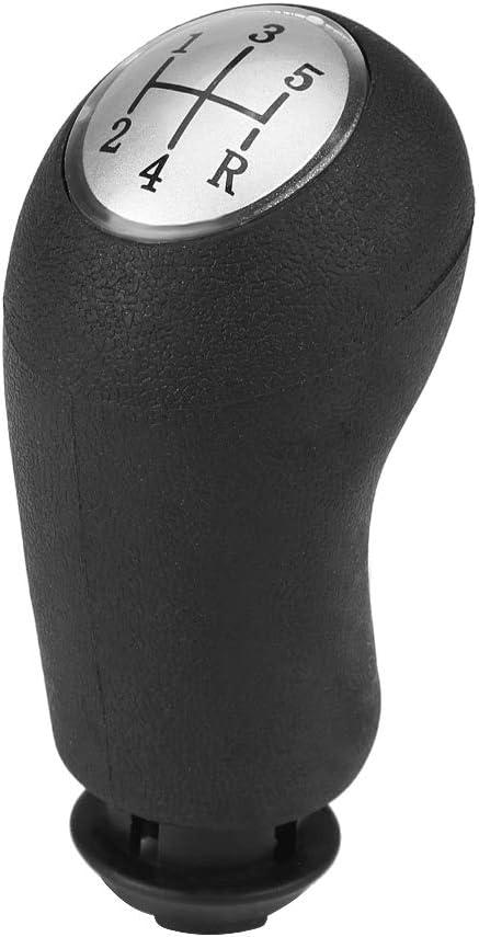 Palanca de Cambios Manual de Coche Yosoo Health Gear Perilla de Cambio de Marchas de 5 velocidades Palanca de Cambio de Cabeza para Re Nault Clio III Scenic II Megane II