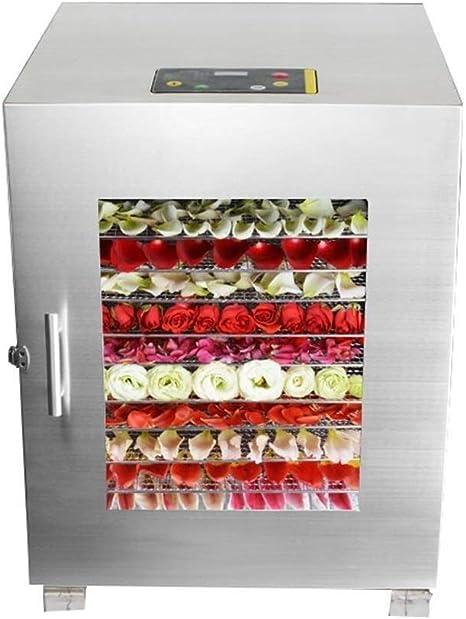 Opinión sobre L.TSA Deshidratador de Alimentos Deshidratador de Alimentos - Deshidratador de Alimentos Bandeja de Acero Inoxidable de 16 Capas de Grado Comercial Fábrica de Alimentos Fábrica de procesamie