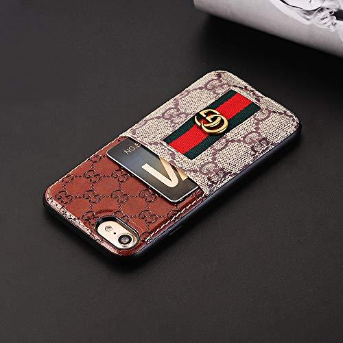 脅かす散逸フローiPhone 7ケース、iPhone 8ケース 超薄型保護カバー、デュアルカラースマートフォンケース(クレジットカードスロット付)Apple iPhone 7/8 用