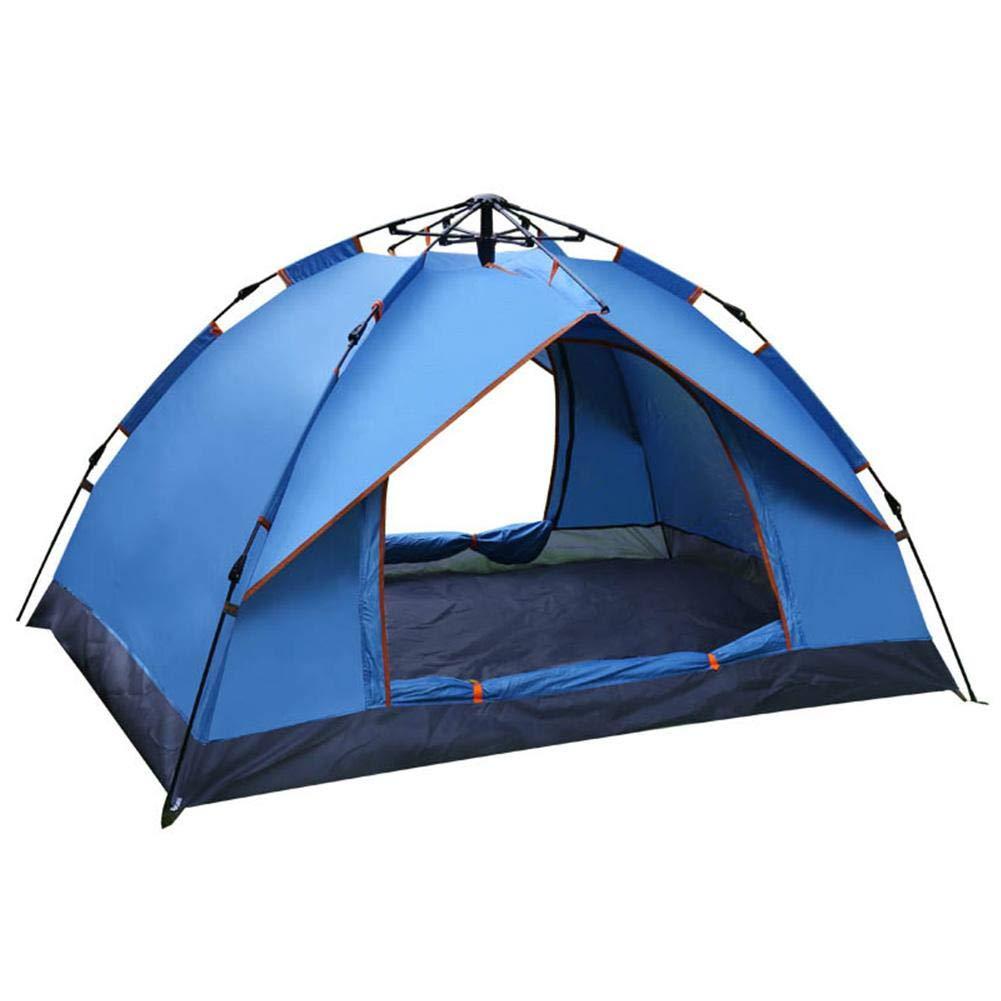 Pangyan990 Strand-Campingzelt, Anti-Moskito-Gefälschtes schnell geöffnetes Anti-Sun-Wasserdichtes Anti-Moskito-Gefälschtes Strand-Campingzelt, Zwei-Schicht-Zelt Automatisches Zelt für Zwei-Personen 39d7c4