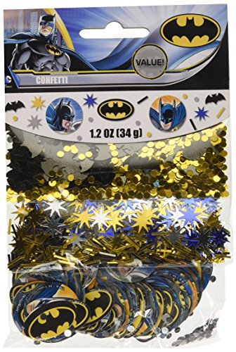 DesignWare Batman Value Confetti Pack, Multicolor -
