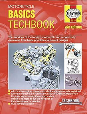 Haynes Manuals N/Amanual Motorcycle Basics M3515 New