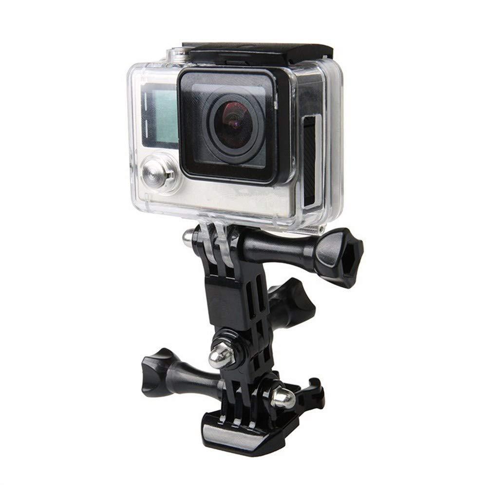 Wenquan,Cámara de acción Casco trípode montajes para GoPro Hero 5/4/3 / Xiaomi Yi 4K Set(Color:Negro): Amazon.es: Hogar