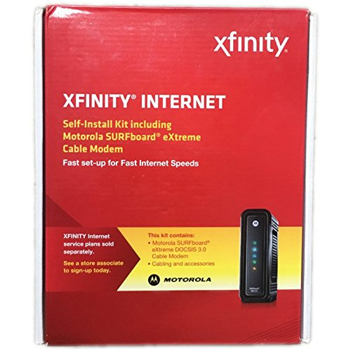 Xfinity Comcast extreme sb6121 self install kit cable modem