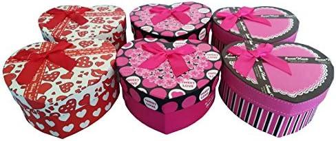 Caja regalo corazon PACK 6 . Cajitas ideales para regalos boda ...