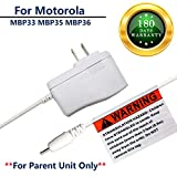 Cheap for Motorola MBP33 MBP36 Baby Monitor Charger Power Cord Replacement Adapter Supply Compatible with Monitor (Parent) Unit ONLY, MBP35, MBP41, MBP43, 6.0V 6.6Ft