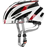 Uvex 2017 Pheox Race Road Bicycle Helmet – 410209 (white-red – 55-59 m) Review