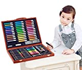 150 Pieces of Children's WoodenBox Painting Painting Brush Set Watercolor Pen Tool Box Almighty Edition Primary School