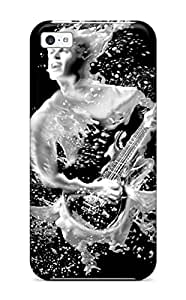 New Style LarryJames Hard Case Cover For Iphone 5c- Guitar Man