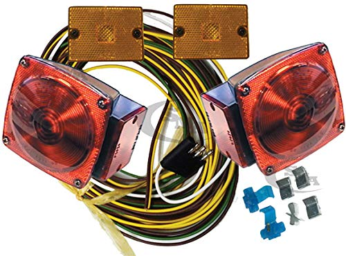 Under 80'' Trailer Light Kit 7504 65370 65230 J2024KCD