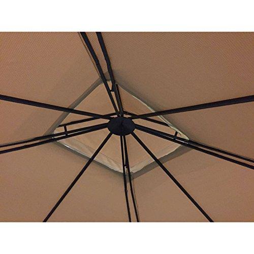 Grand Resort Audio Gazebo Replacement Canopy - RipLock 350 by Garden Winds (Image #5)