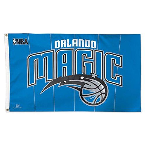 WinCraft NBA Orlando Magic 02403115 Deluxe Flag, 3' x 5'