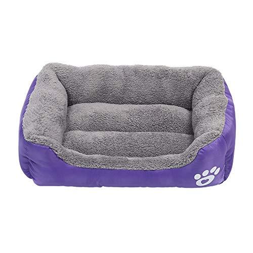UC7LRR Pet Nest Four Seasons Universal Pet Sofa Bite Resistant Waterproof Oxford Cloth (Color : Purple, Size : 6650cm)