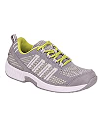 Women's Plantar Fasciitis Orthopedic Diabetic Walking Athletic Shoes Coral Sneakers