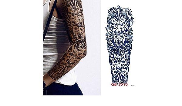 7pcs Baratos falsos pegatinas etiqueta engomada del tatuaje ...