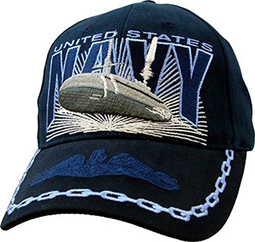 U.S. Navy Submarine Cap. Navy Blue (Submarine Hats)