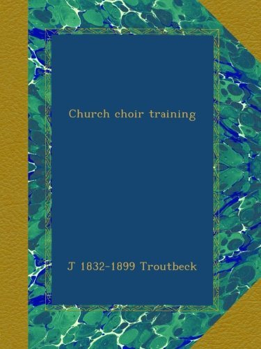 Download Church choir training pdf epub