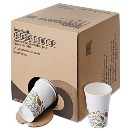 Amazon.com: Boardwalk DEER12HCUPOP Convenience Pack Paper ...