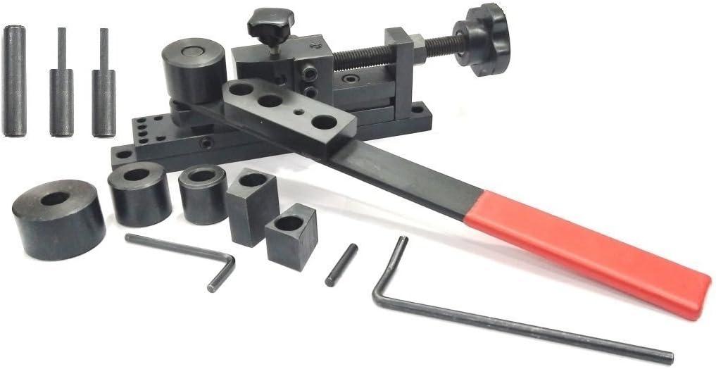 Precisión Universal Máquina para doblar manualmente barra de metal, tubo, tubo