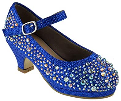 Titan Mall Girls Dana-58k Blue Size: 1 Little Kid