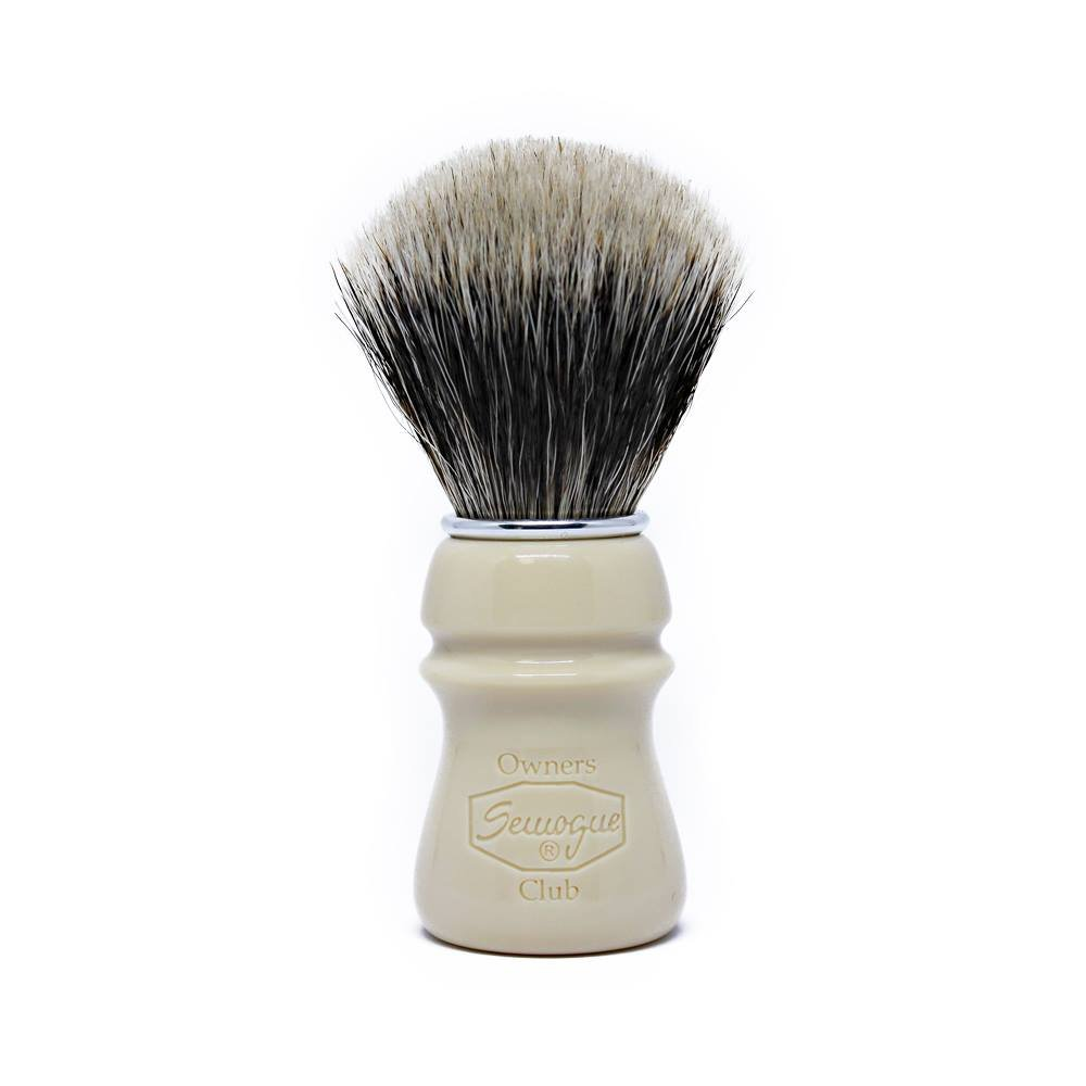 Semogue Owners Club (SOC) Taj Resin Badger Edition Shaving Brush by Semogue Owners Club