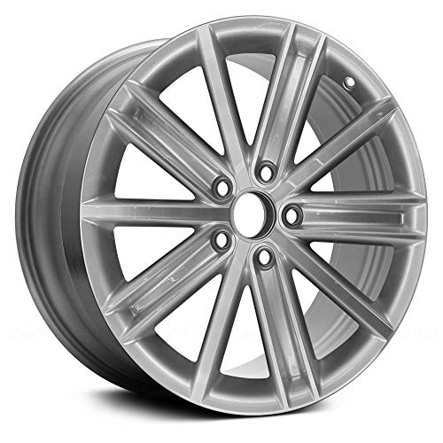 Value 10 Spokes Machined with Bright Silvr Factory Alloy Wheel OE Quality Replacement