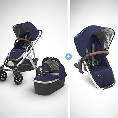 2018 UPPABaby VISTA Stroller - Taylor  + RumbleSeat- Taylor